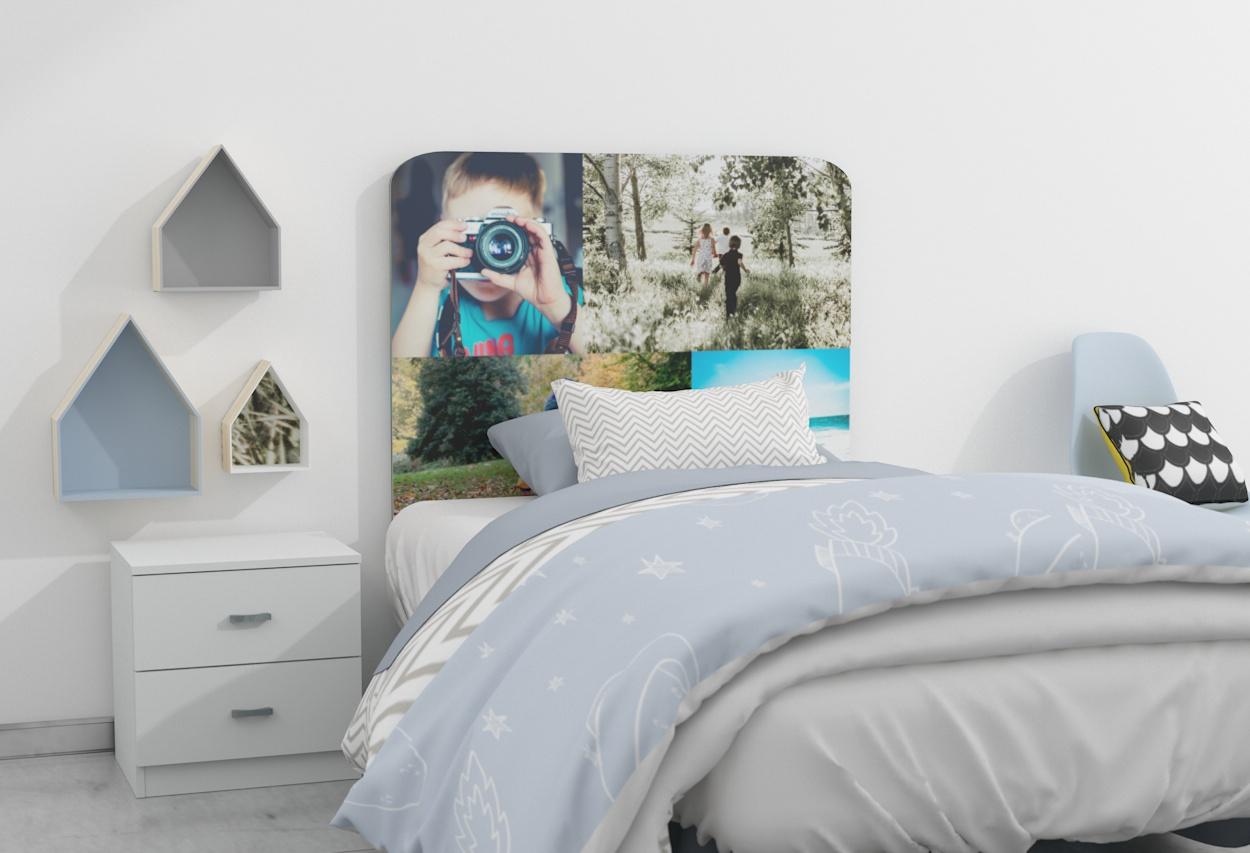 Cabeceros con fotos nueva tendencia - woodiwood.com